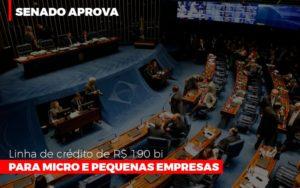 Senado Aprova Linha De Crédito De R$190 Bi Para Micro E Pequenas Empresas Notícias E Artigos Contábeis - Contabilidade em Cascavel | Resultado Contábil