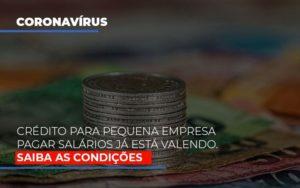 Credito Para Pequena Empresa Pagar Salarios Ja Esta Valendo Notícias E Artigos Contábeis - Contabilidade em Cascavel   Resultado Contábil