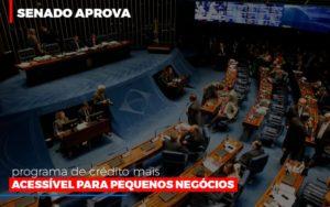Senado Aprova Programa De Credito Mais Acessivel Para Pequenos Negocios Notícias E Artigos Contábeis - Contabilidade em Cascavel   Resultado Contábil