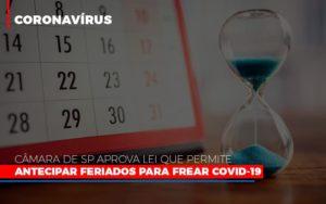 Camara De Sp Aprova Lei Que Permite Antecipar Feriados Para Frear Covid 19 Notícias E Artigos Contábeis - Contabilidade em Cascavel   Resultado Contábil